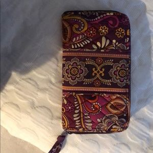 Vera Bradley Travel Wallet-Barely Used!